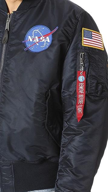 Alpha Industries NASA MA-1 Flight Jacket