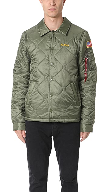 Alpha Industries Quilted Storm Cruiser Jacket