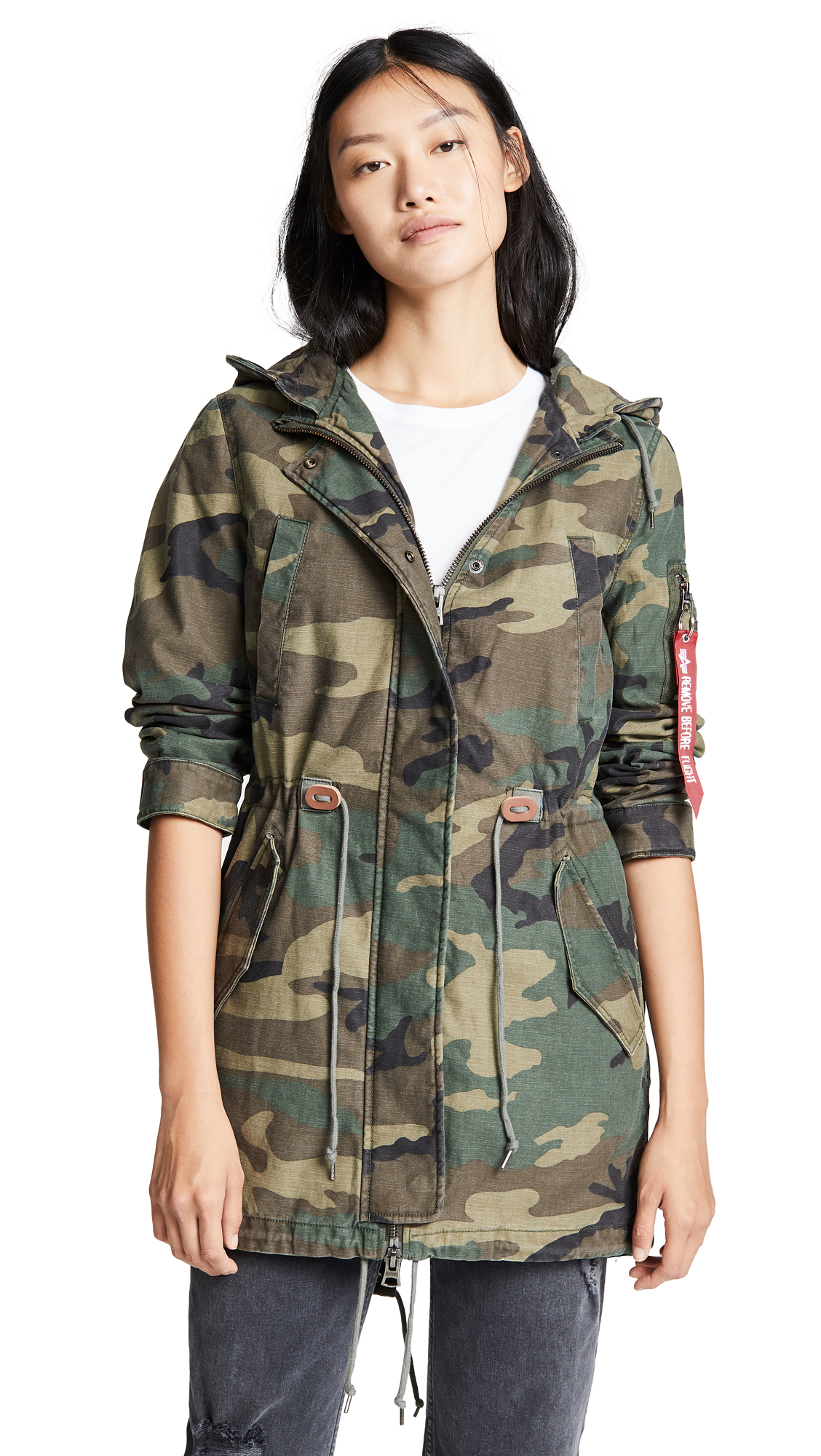 Alpha Industries Meri Fishtail Field Coat