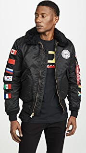 Alpha Industries B-15 Coalition Forces Flight Jacket