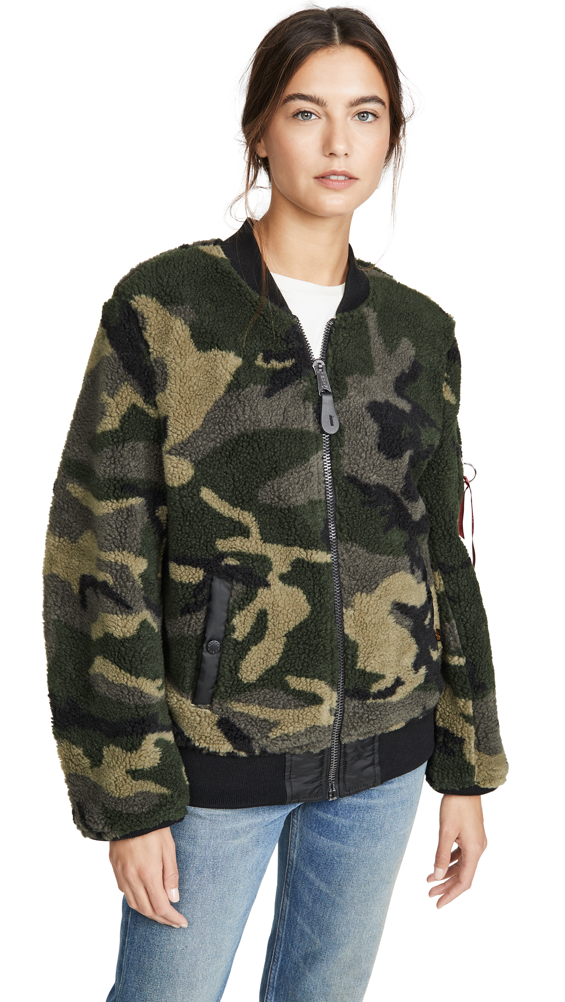 Buy Alpha Industries Sherpa Flight Jacket online beautiful Alpha Industries Jackets, Coats, Down Jackets