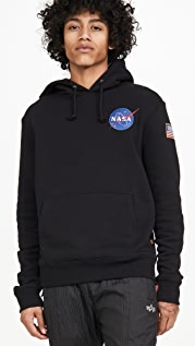 Alpha Industries Space Shuttle NASA Pullover Hoodie