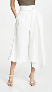 Aje Mimosa Pleated Culottes