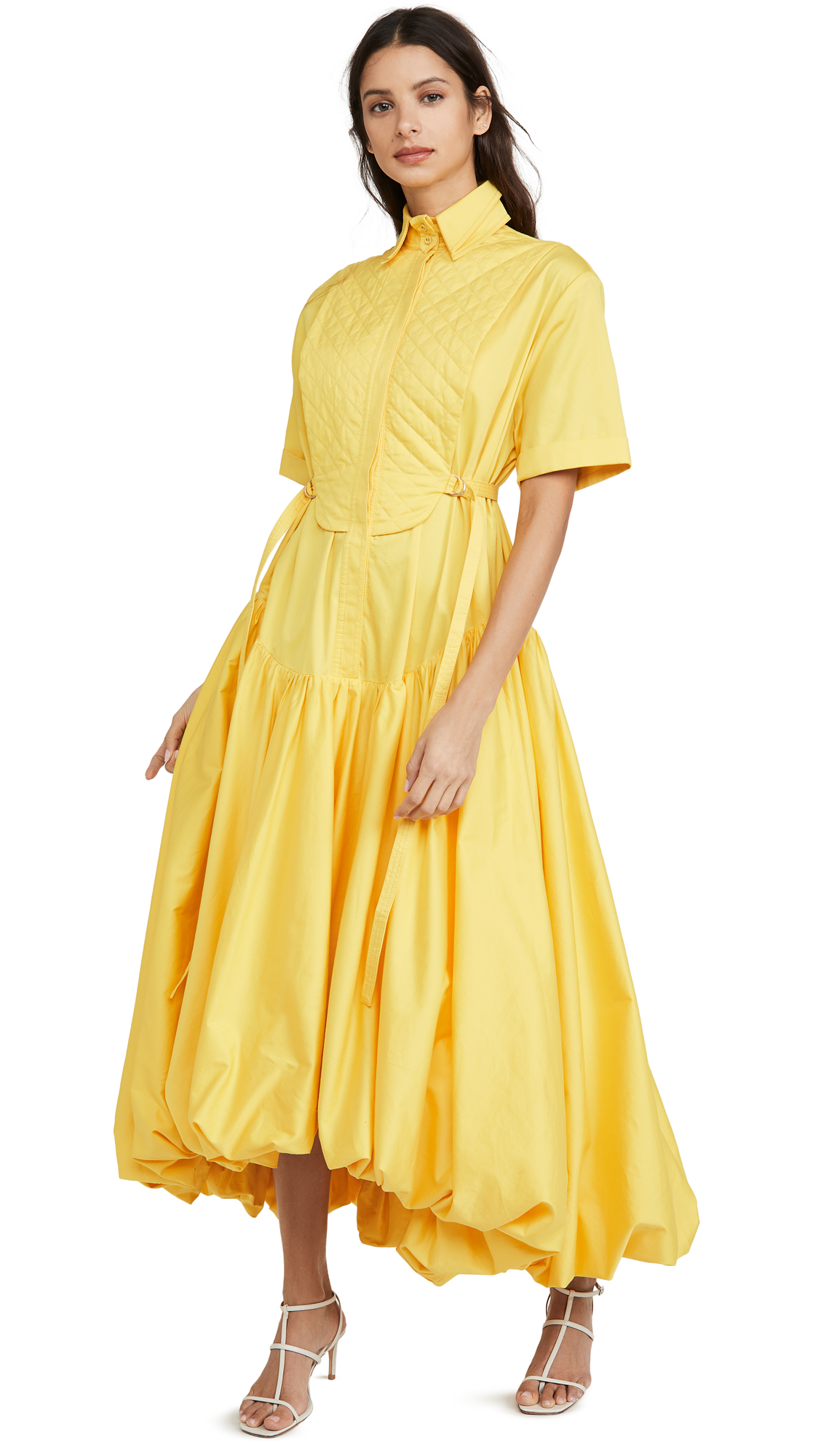 Buy Aje Mimosa Quilted Bubble Gown online beautiful Aje Clothing, Dresses