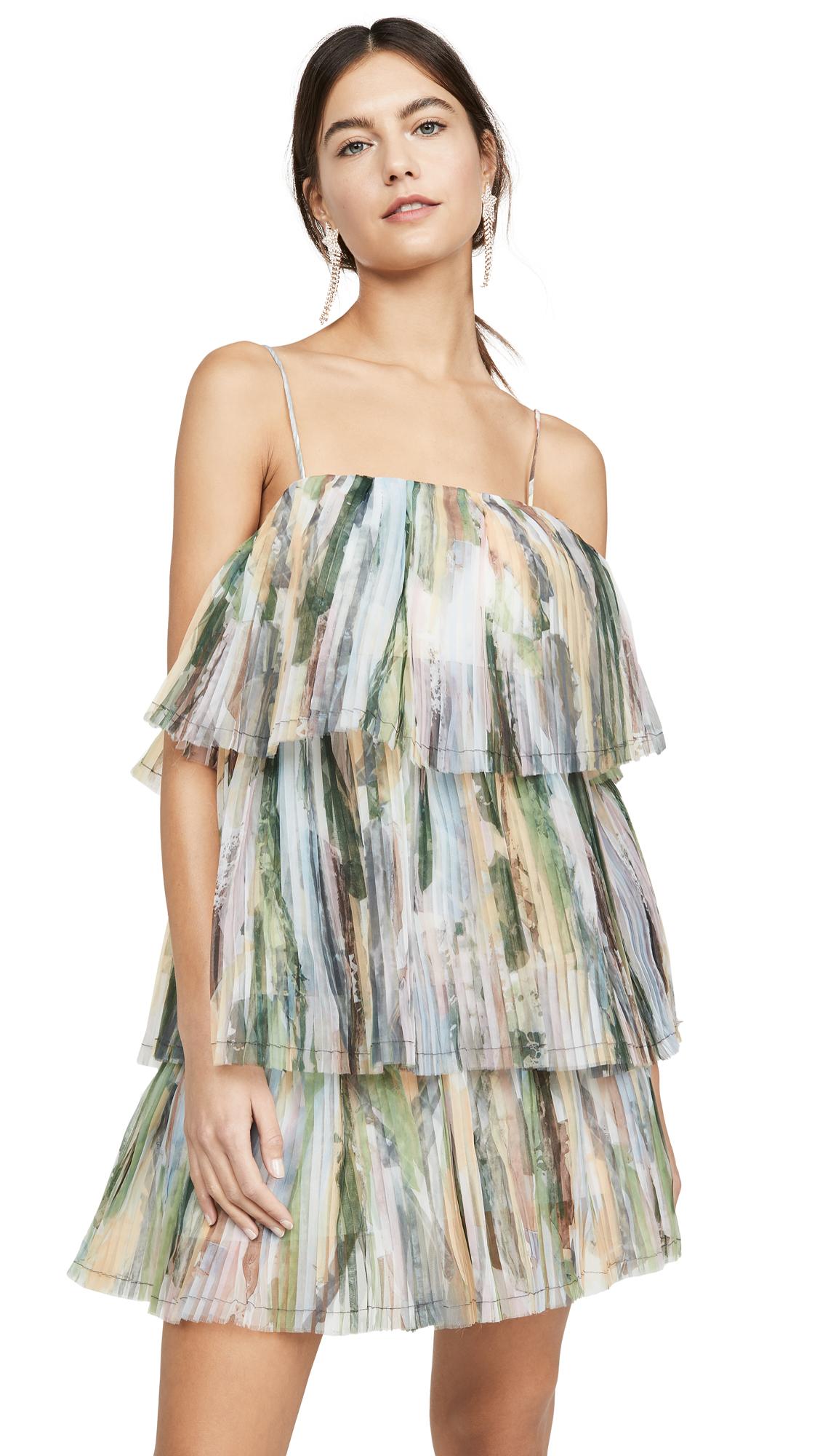 Buy Aje Paperbark Sunray Mini Dress online beautiful Aje Clothing, Dresses
