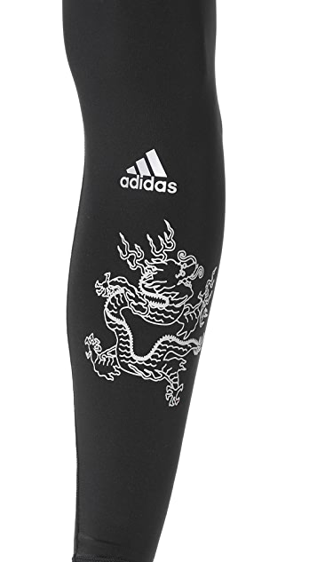 Adidas by Kolor Black Tech Tights