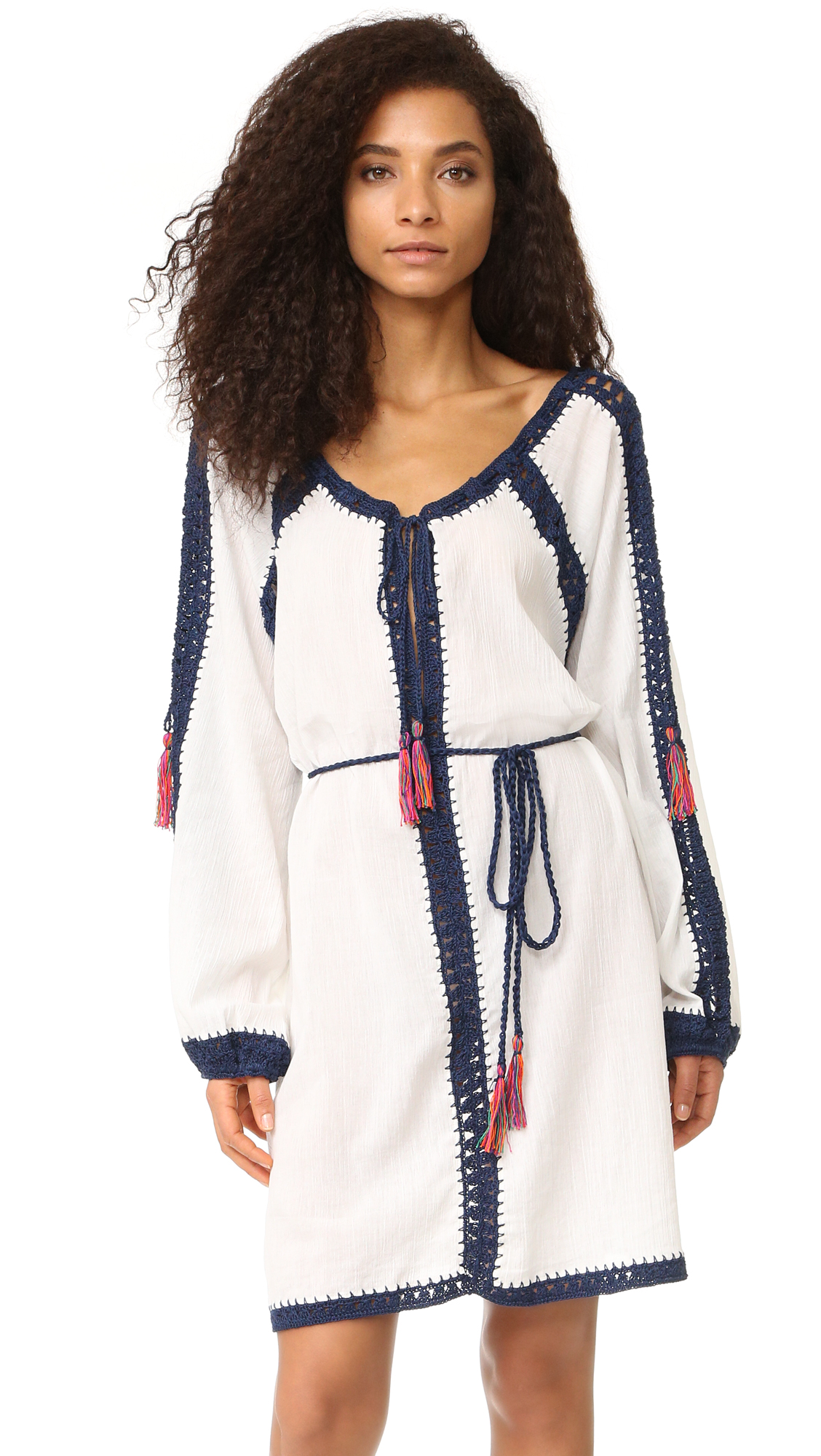 Anna Kosturova Nomad Boho Mini Dress - Sailor Nomad at Shopbop