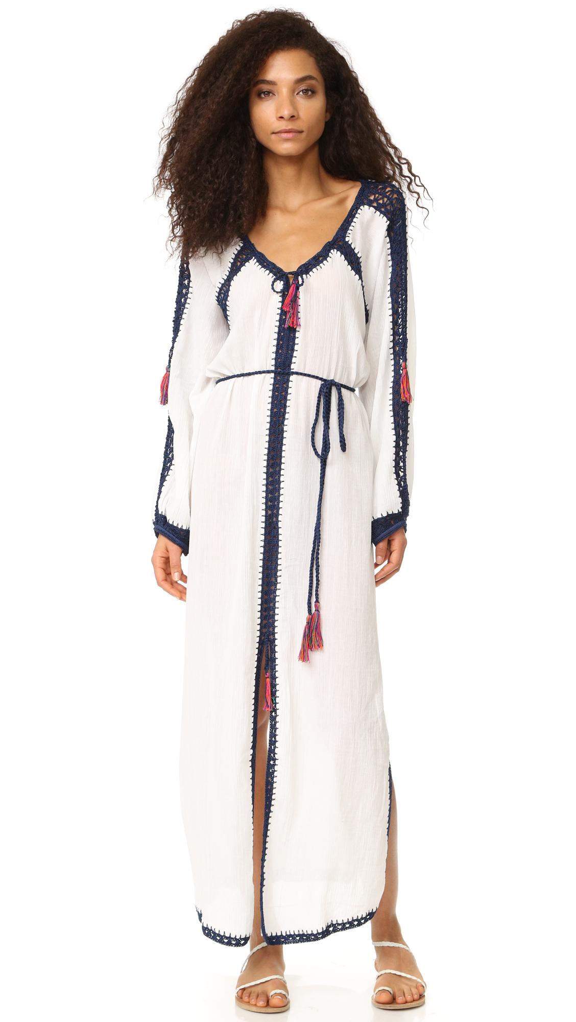Anna Kosturova Sailor Nomad Boho Maxi Dress - White at Shopbop
