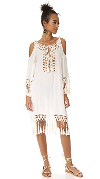 Anna Kosturova Marrakesh Cold Shoulder Dress