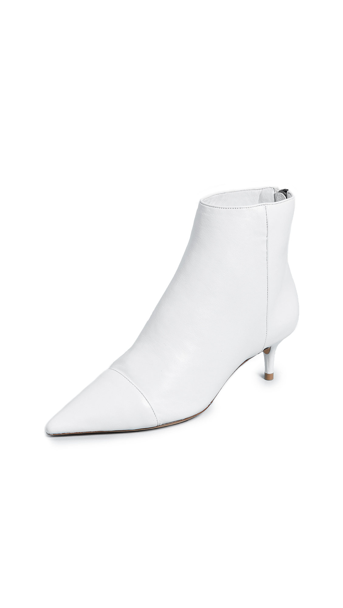 Alexandre Birman Kittie Booties - White