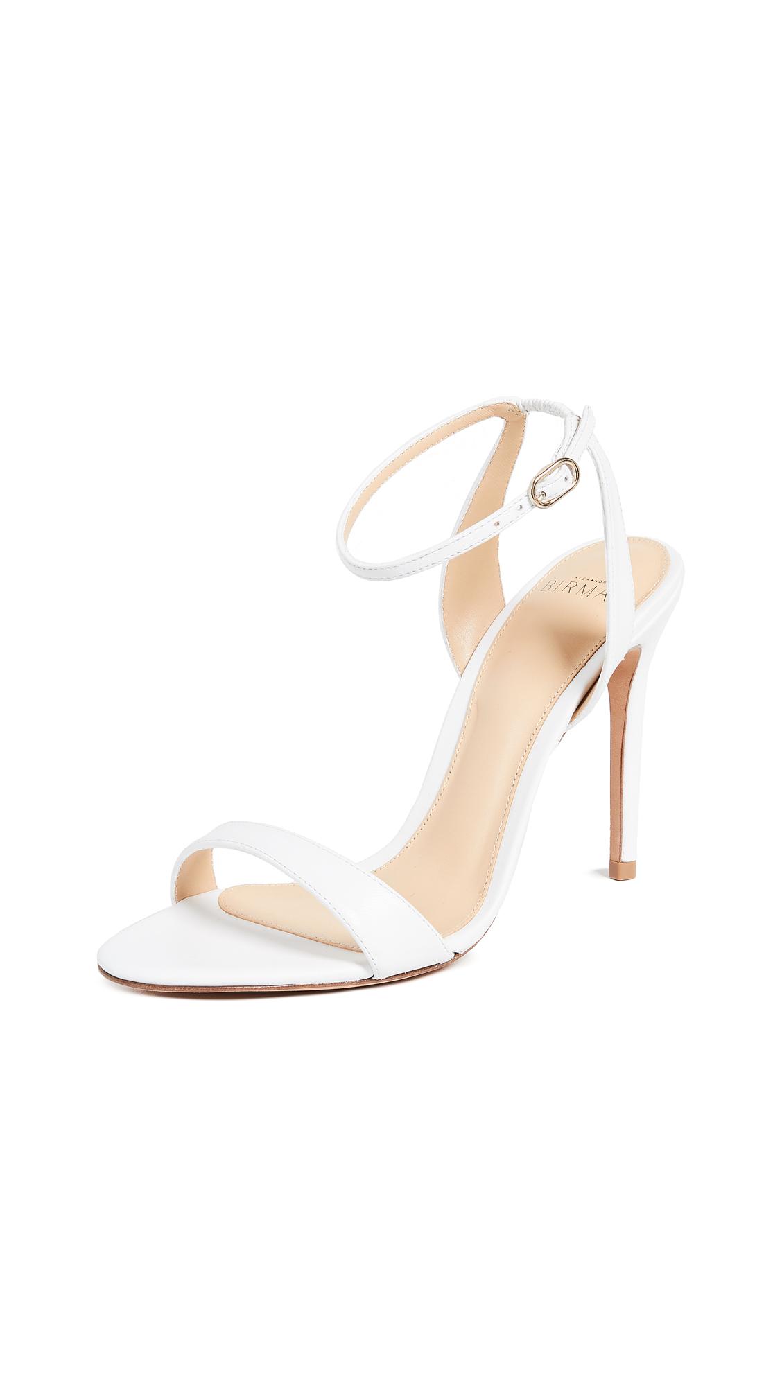 Alexandre Birman Santine Lea Sandals - White
