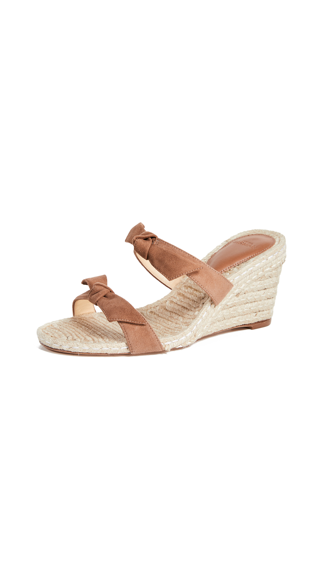 Alexandre Birman Clarita Braided Espadrilles - Cobble/Natural