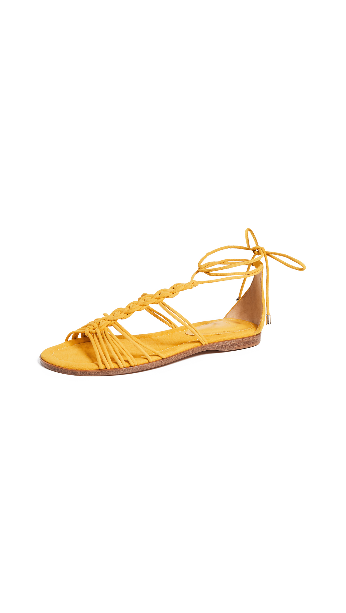Alexandre Birman Roly Flat Sandals - Pineapple