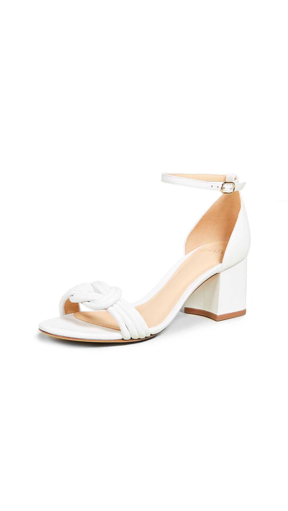 Alexandre Birman Malica Sandals 60mm - White