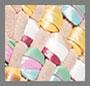 Light Sand/Multicolor
