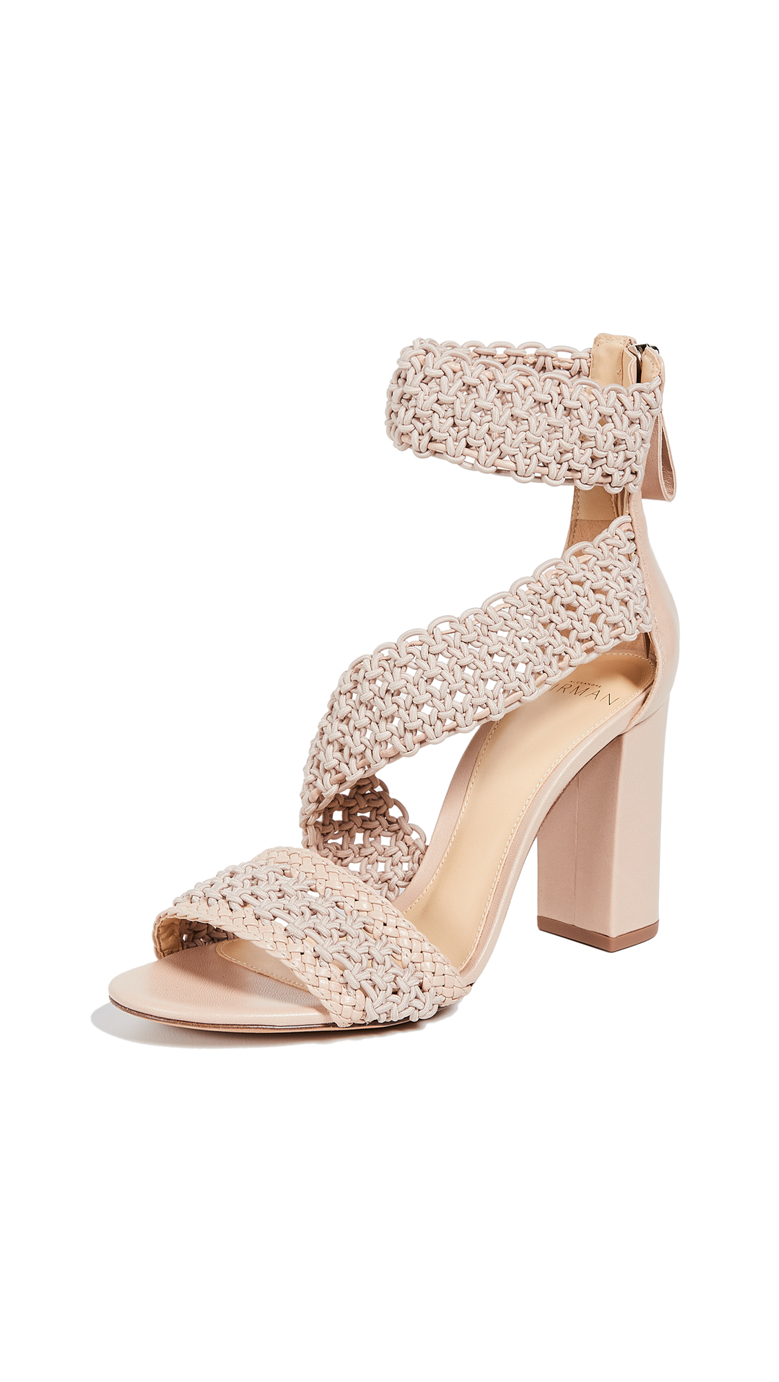 Alexandre Birman Lanny 90mm Sandals - Light Sand