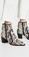 Alexandre Birman Benta Python Boots
