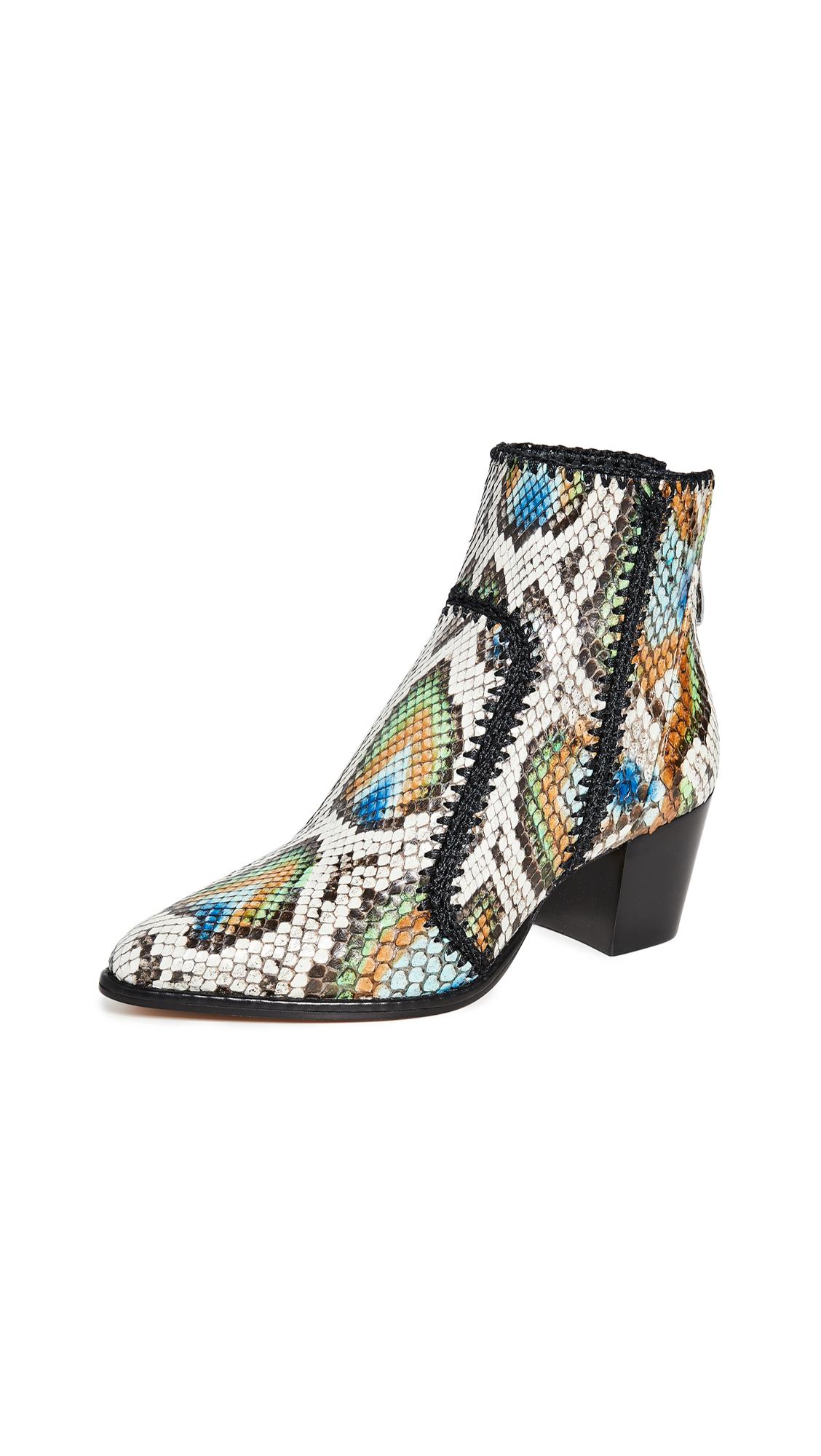 Alexandre Birman Benta Python Boots - Multi