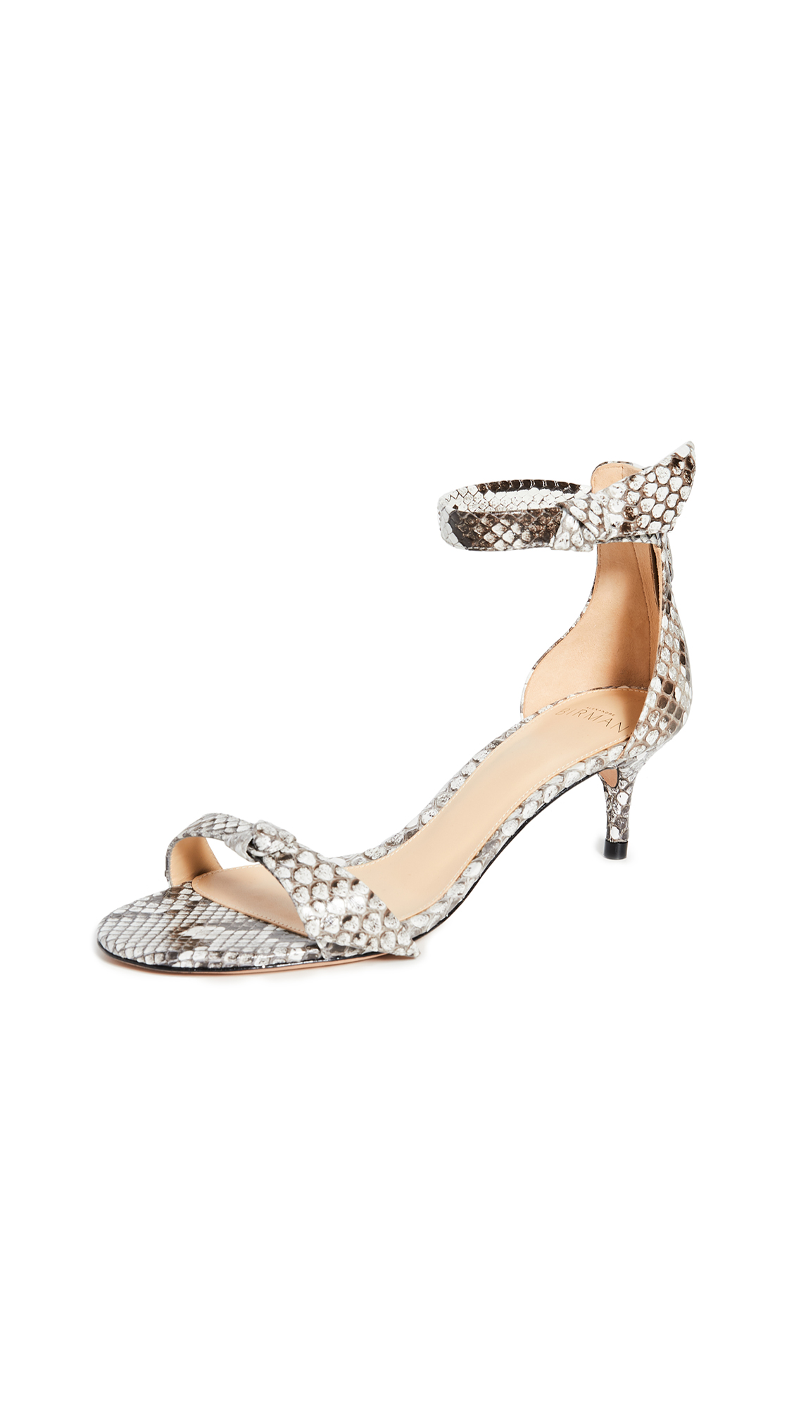 Buy Alexandre Birman online - photo of Alexandre Birman Assymetric Clarita 50 Exotic Sandals