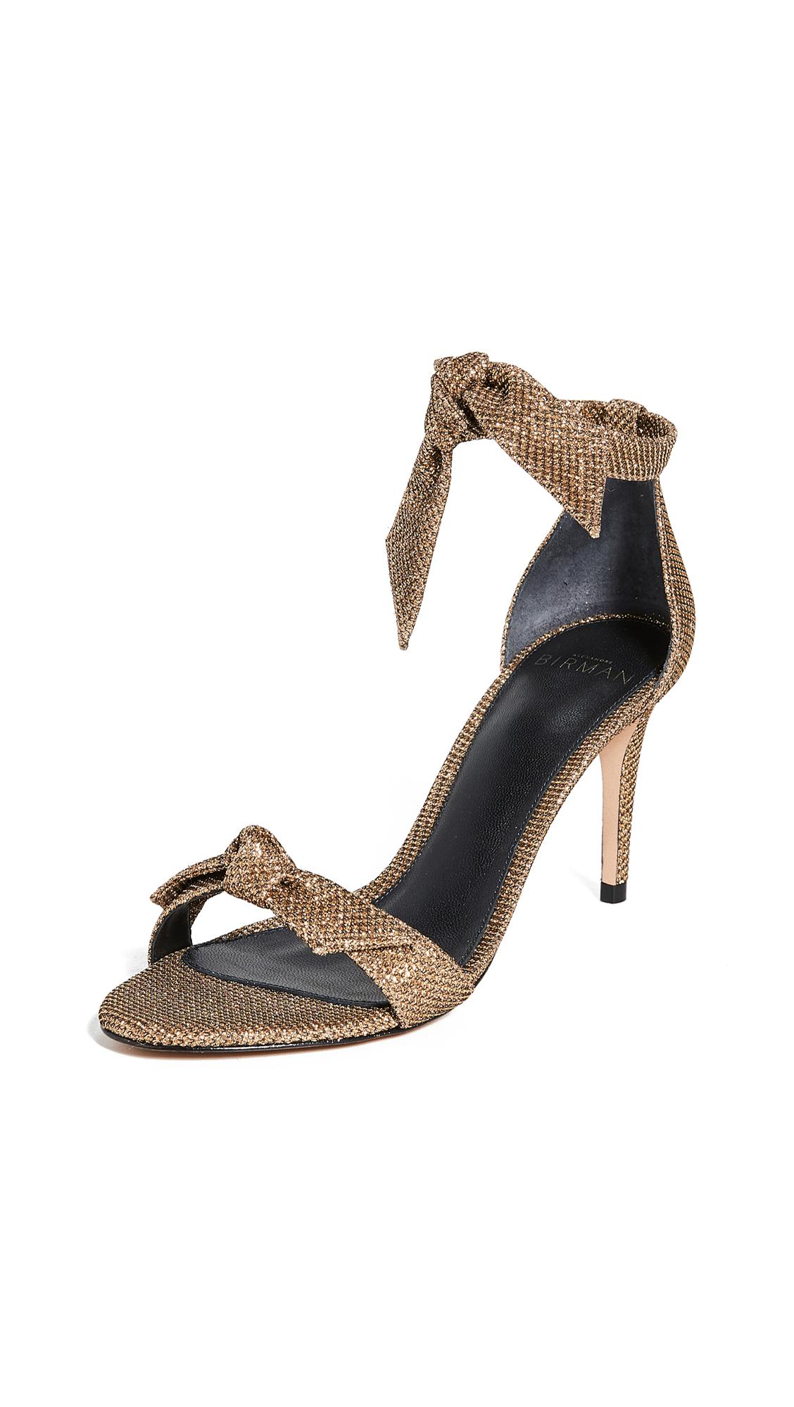 Buy Alexandre Birman online - photo of Alexandre Birman Clarita 75mm Fabric Sandals
