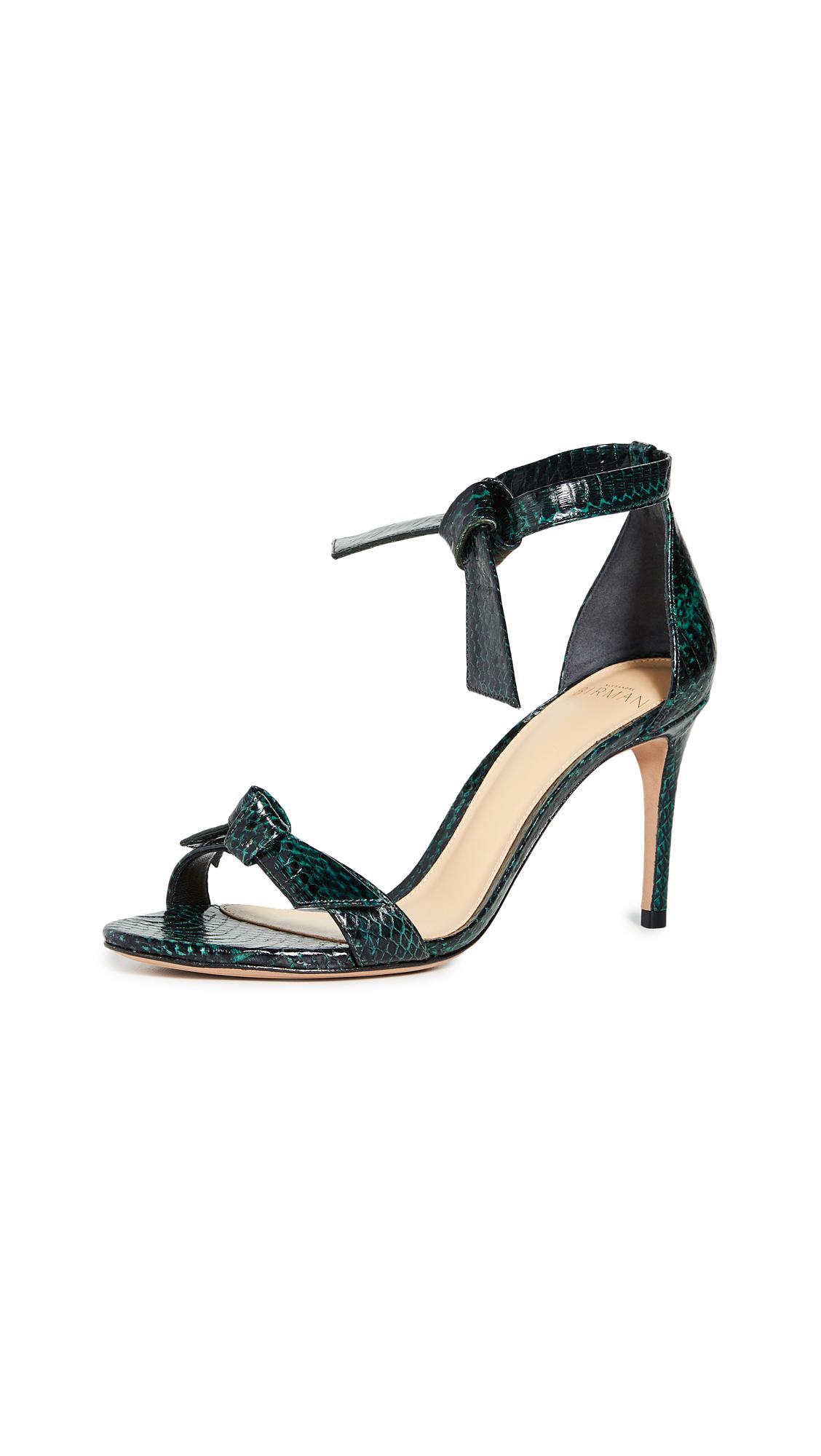 Alexandre Birman Clarita 85mm Exotic Sandals - 50% Off Sale