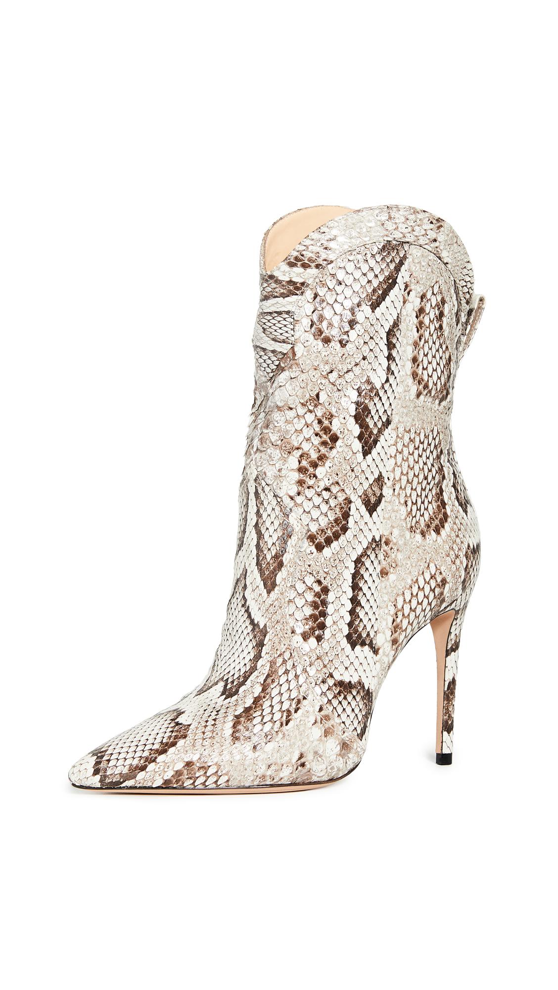 Buy Alexandre Birman Esther 100 Exotic Boots online, shop Alexandre Birman