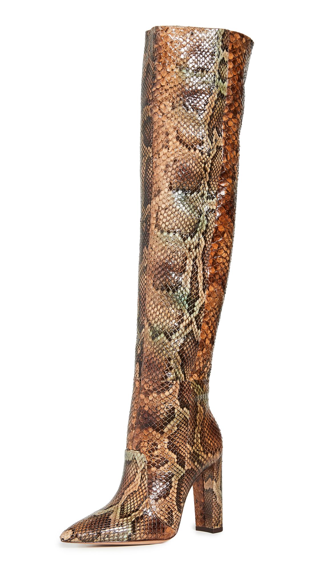Buy Alexandre Birman online - photo of Alexandre Birman Elisa 100mm Exotic Boots