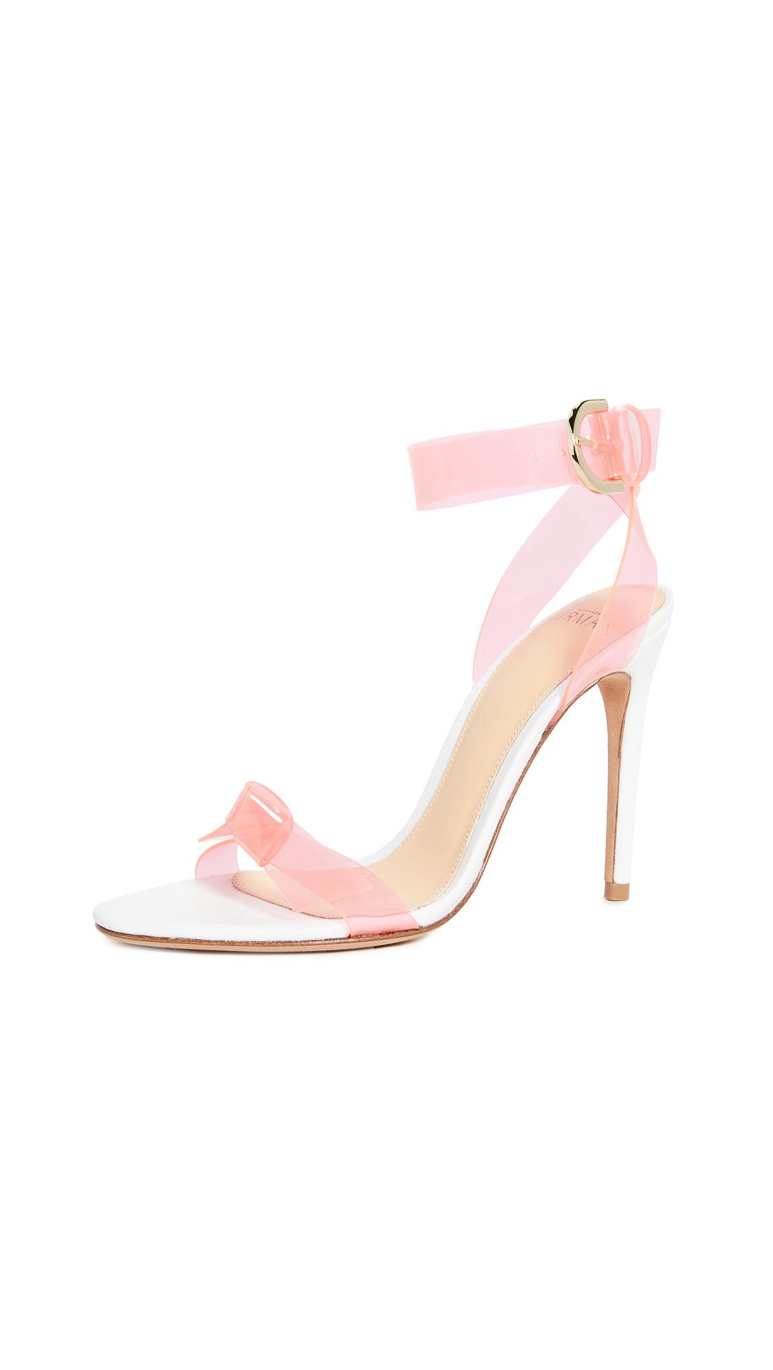 Alexandre Birman Clarita PVC Sandals 100mm - 60% Off Sale
