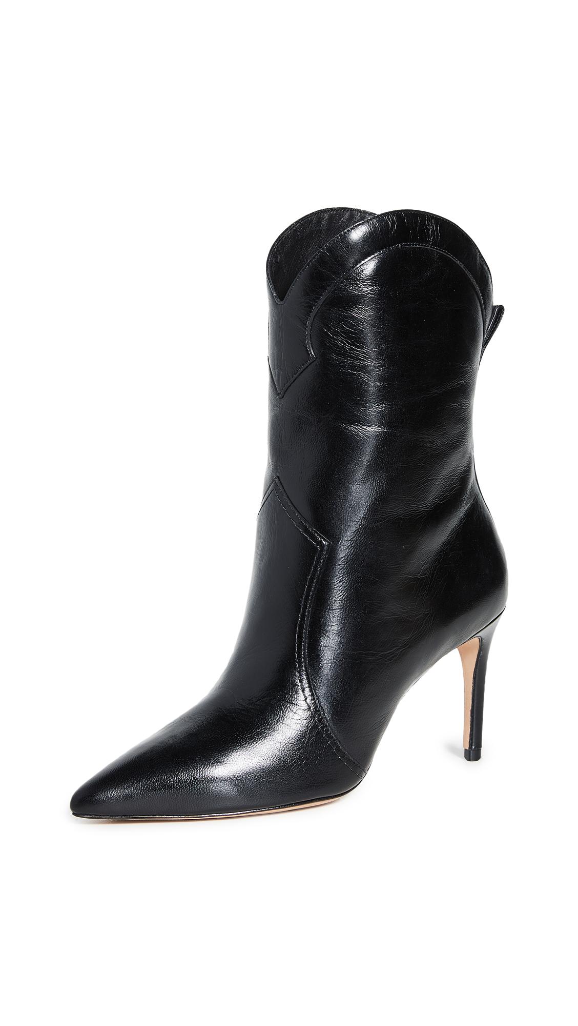 Alexandre Birman Esther 85 Boots - Black