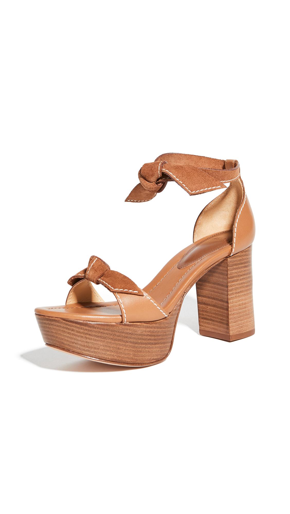 Alexandre Birman 85mm Clarita Plateau Sandals - 40% Off Sale