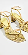 Alexandre Birman Nelly 方形异域风格凉鞋