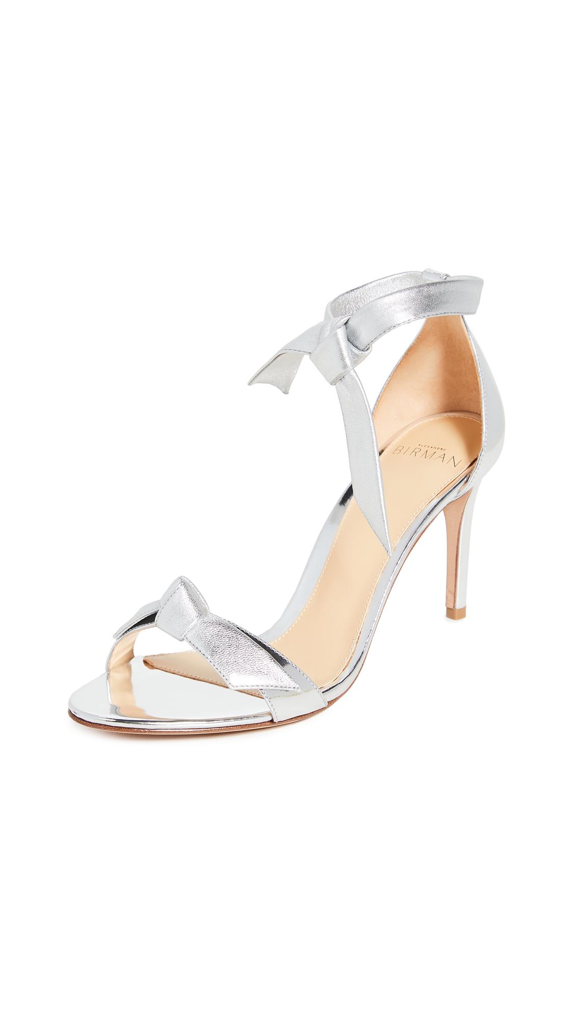 Alexandre Birman Clarita Metallic Sandals 85mm - 50% Off Sale