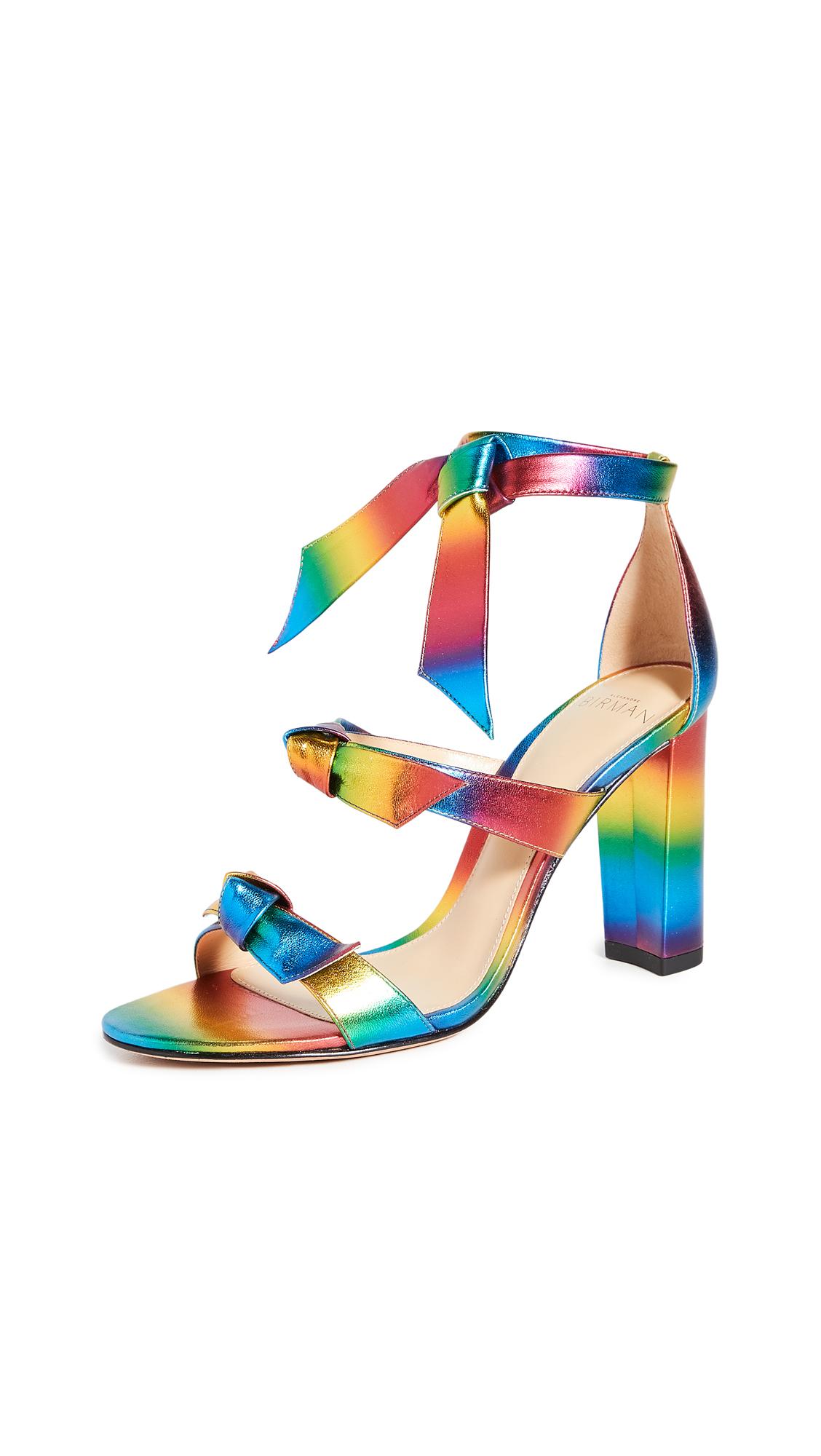 Buy Alexandre Birman 90mm Lolita Block Sandals online, shop Alexandre Birman