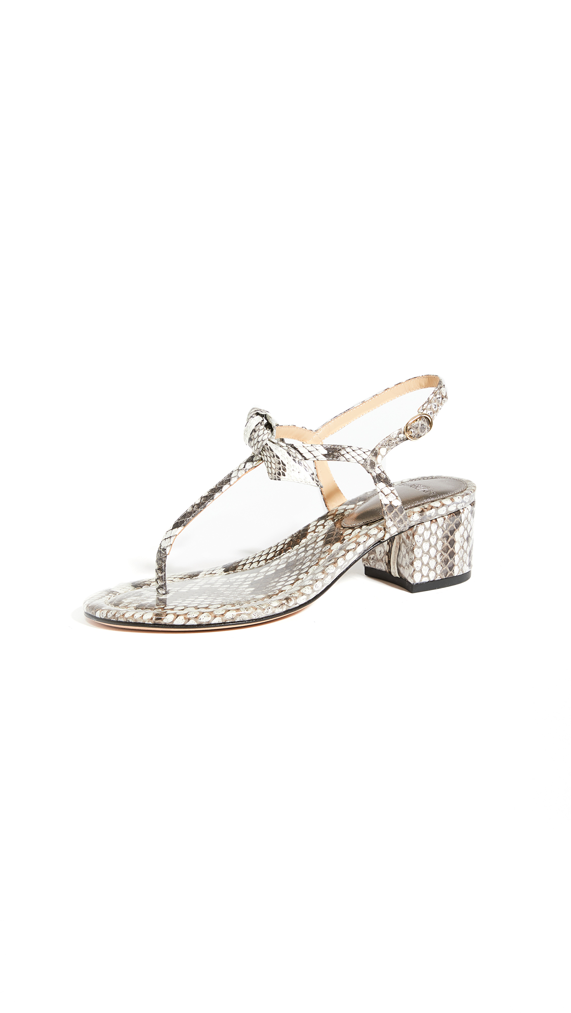 Buy Alexandre Birman 45mm Clarita T Sandals online, shop Alexandre Birman