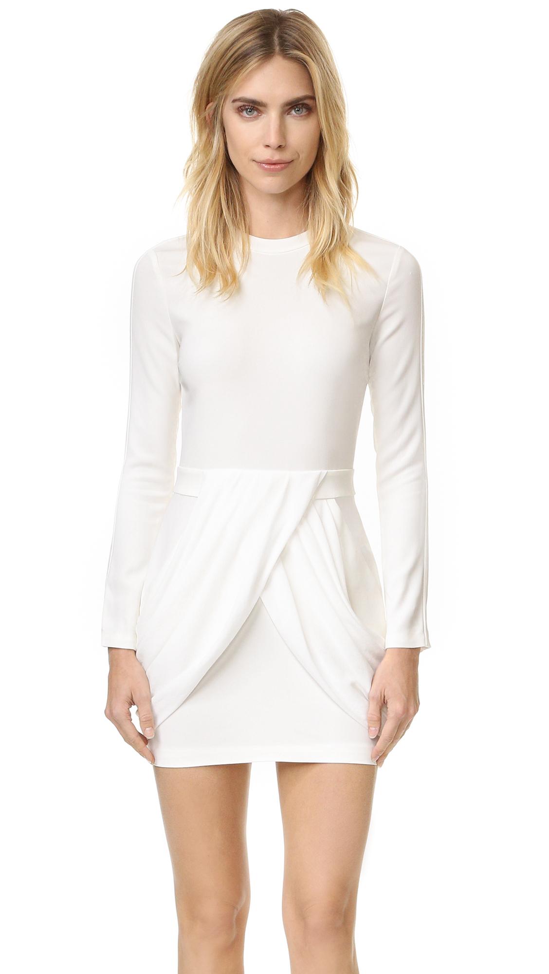 A.L.C. Tolan Dress - White/White at Shopbop