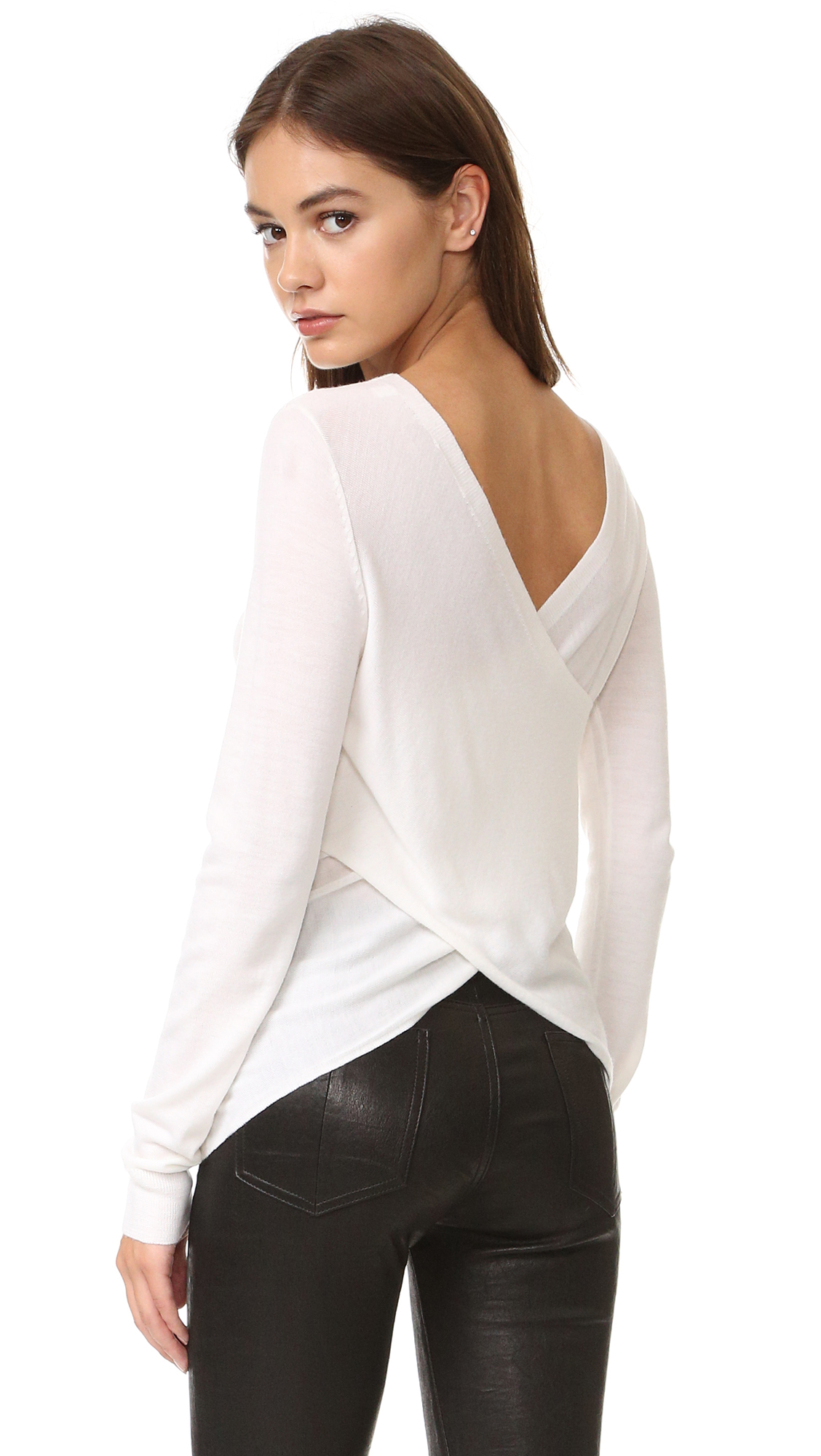 A.L.C. Wilson Sweater - White at Shopbop