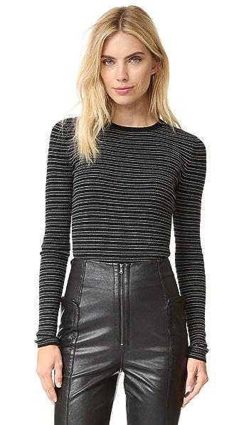 A.L.C. Harmon Sweater - Moss Stripe