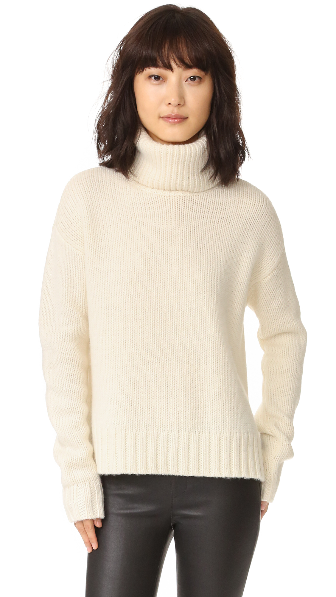 A.L.C. Jake Sweater - White at Shopbop