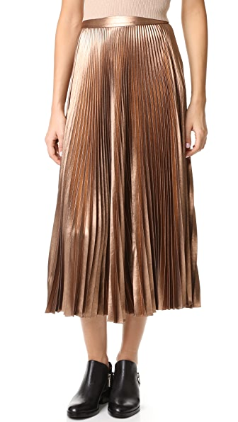 A.L.C. Bobby Skirt - Rose Gold at Shopbop