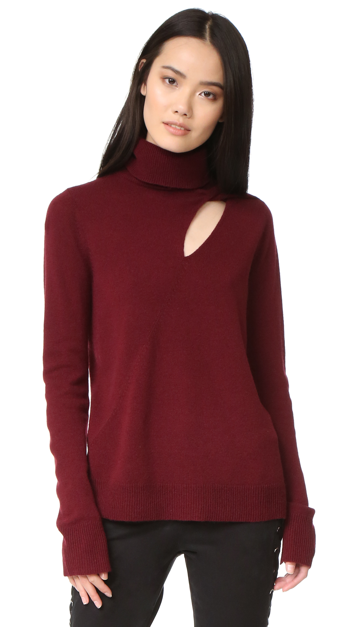 A.L.C. Billy Sweater - Bordeaux at Shopbop