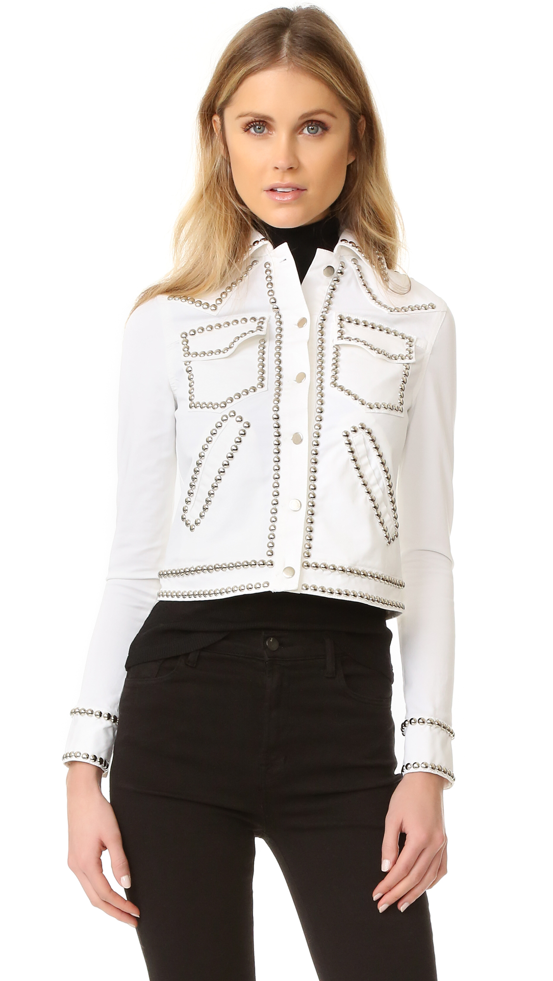 A.L.C. Hayden Jacket - White at Shopbop