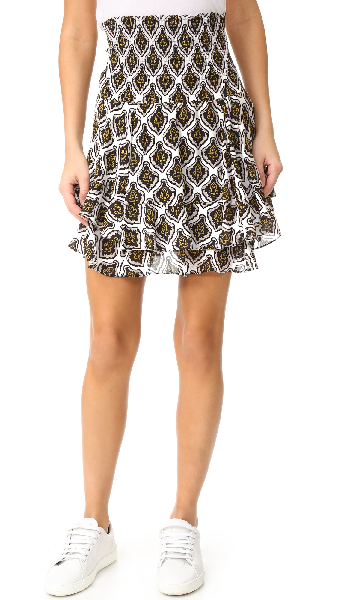 A.L.C. Vera Skirt - Black/White at Shopbop