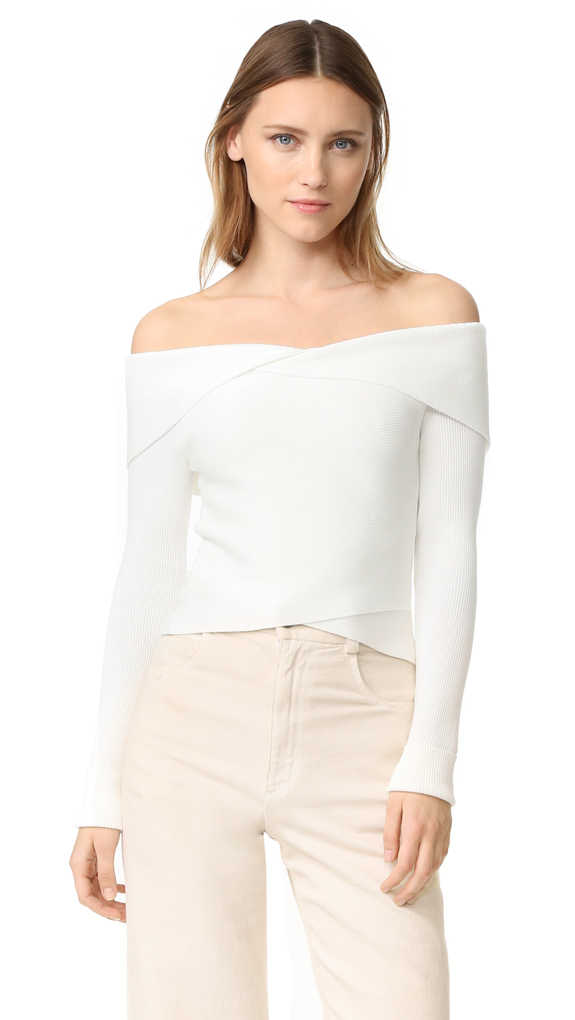 A.L.C. Rayne Sweater - White at Shopbop