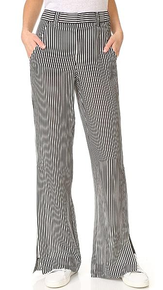 A.L.C. Miles Pants - Black/White