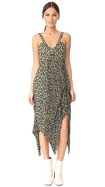 A.L.C. Kendall Dress - Yellow/Eggshell