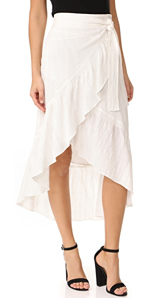 A.L.C. Charmaine Skirt In Eggshell