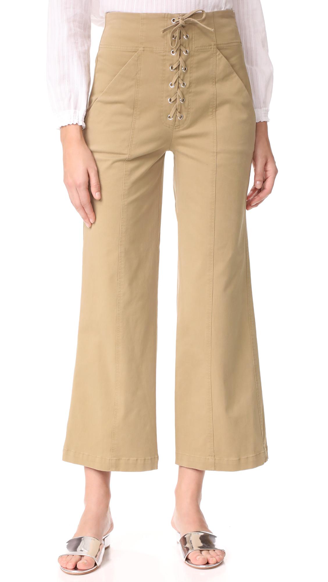 A.L.C. Kyt Pants - Khaki
