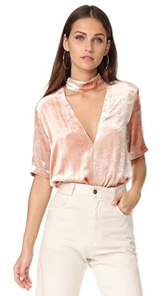 A.L.C. Blaise Top In Pink