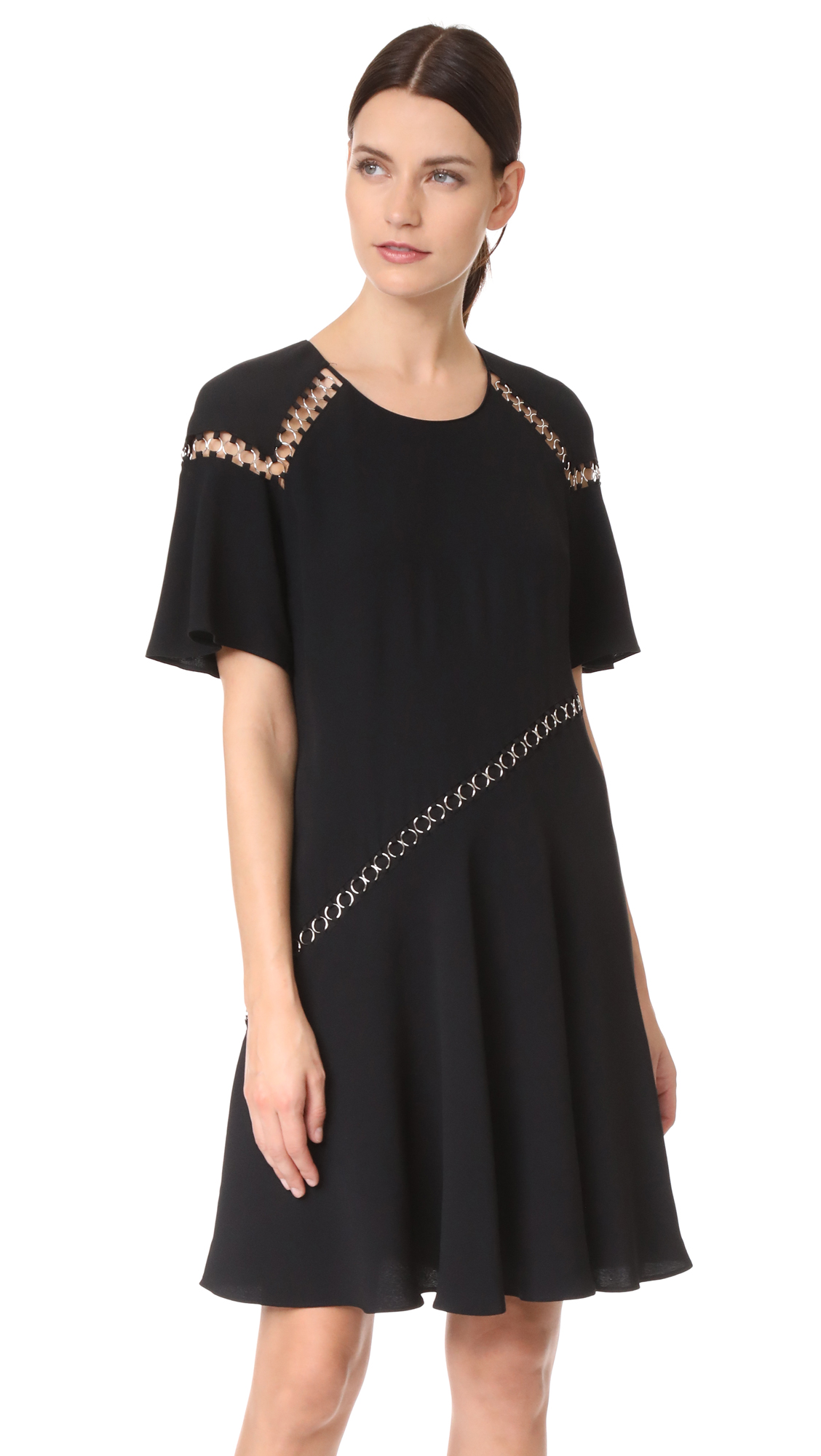 A.L.C. Mitchell Dress - Black