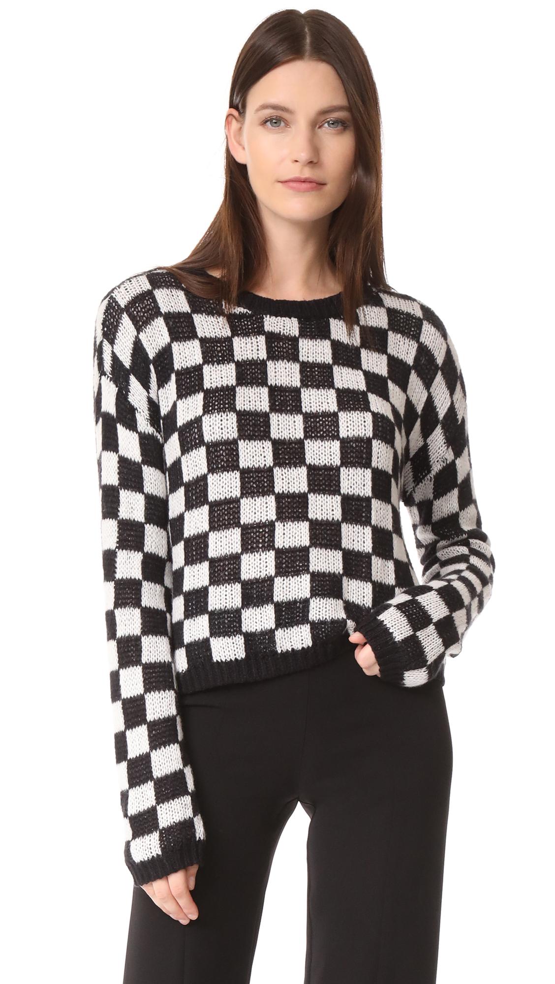 A.L.C. Remington Sweater - Black/White